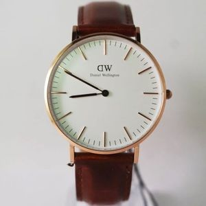 NWT DANIEL WELLINGTON SHEFFIELD CLASSIC WATCH 36mm